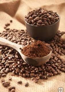Coffee Grounds & Beans