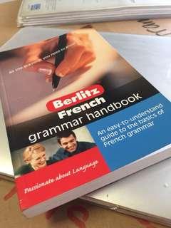 Berlitz French Grammar Handbook