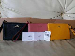 Coach mini clutch/wallet