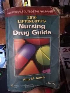 2010 Lipincott's Nursing Drug Guide