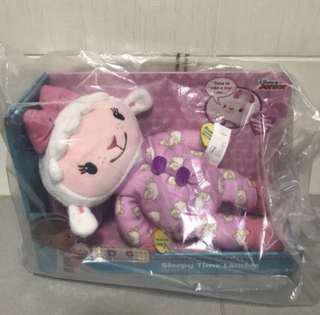 Brand New Disney Doc McStuffins Sleepytime Lambie Plush