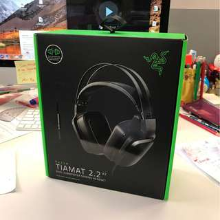 [Brand New 全新]Razer Tiamat 2.2 v2 Gaming Headset 雷蛇 遊戲耳機