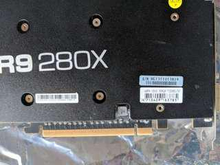 R9 280x 3gb ddr5 384 bit ( than 1050ti)