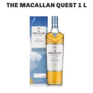 MACALLAN QUEST LIQUER 1L ORIGINAL DUTY FREE SINGAPORE