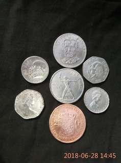 Koleksi coin kuno .. dalam dan luar negeri