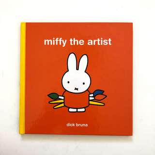 Miffy The Artist Children storybook