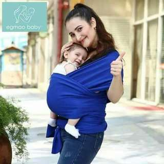 Moby Wrap Baby Carrier - BLUE