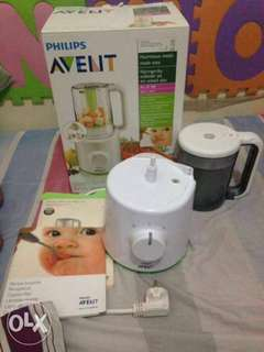 Philips Avent Combine steamer blender in one rush