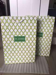 Paper bag ST. James