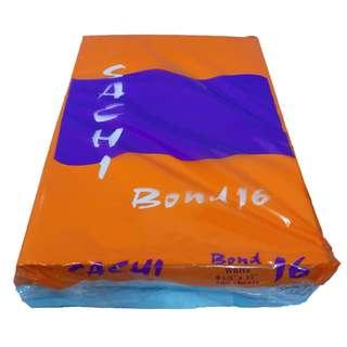 "BOND PAPER LONG 8-1/2"" x 13"" bond 16"