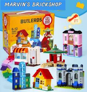 For Sale Classic Creative Builders Assorted Bricks 542pcs