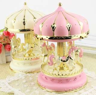 Romantic carousel music box Lantern music box Creative send girlfriend wedding birthday gift ornaments