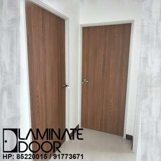 Full Solid Laminate Bedrooms Door at $350