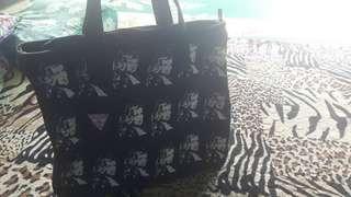 Unisex Tote Bag Top Zip