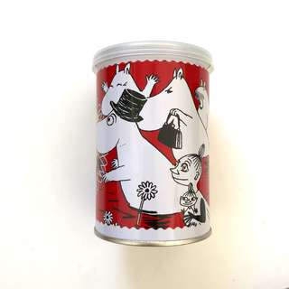 Moomin metal container canister