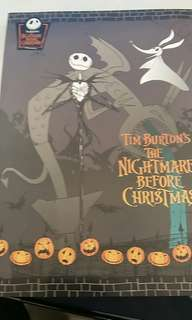 The nightmare before Christmas notebook