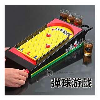 1629993 助興酒具 聚會娛樂酒具 彈球游戲 回味經典 桌上游戲酒具 Table games wine