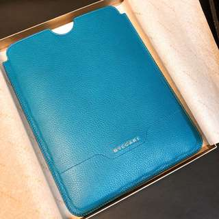 BVLGARI Blue Leather Tablet/iPad/eBook Reader Sleeves皮革保護套