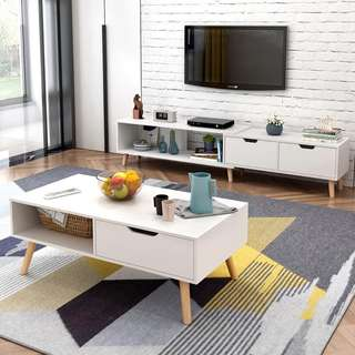 🚚 TV Console/TV Rack/TV stand console/Console/Coffee Table/Storage/Tea table/Side table/TV Cabinet
