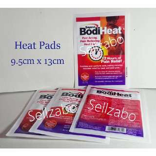 Beyond Pain Relief BodiHeat Bodi Heat Disposable 12 Hours Heating Warm Pads Sellzabo Warming Warmth Backpain Muscles Body Health Winter Needs