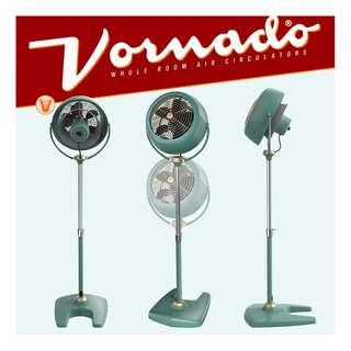 【景徽軒古傢俬】~~~現貨 全新Vornado VFAN Sr.沃拿多經典復古造型循環扇/電風扇 Vintage 綠色