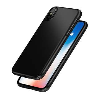 Caudabe Lucid Clear for iPhone X Obsidian and Silver