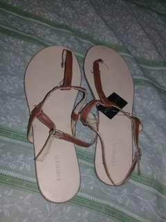 Original Forever21 Sandals CHESTNUT