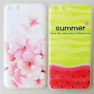 Nice FLORAL CASE and SUMMER CASE Soft TPU for VIVO units