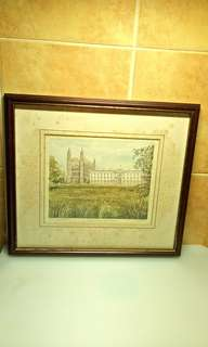 Kings College Cambridge ( Limited Edition of 672 /  850 ) Vintage Portraits of Britain.