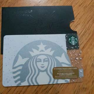 STARBUCKS CARD - CANADA PEARL SIREN CARD 2016