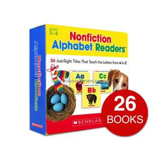 NONFICTION ALPHABET READERS COLLECTION (26 BOOKS)