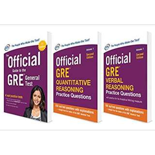 Official GRE Super Power Pack, Second Edition 2nd Edition, Kindle Edition by Educational Testing Service  (Author)