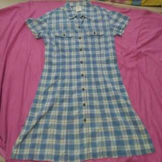 CLEARANCE SALE! Checkered Dress By Old Navy