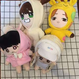 [RM90 EACH SALE] Bts fansite doll clearance