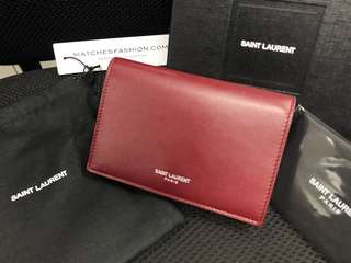 Saint Laurent Card Holder 錢包 wallet
