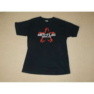 Anti-Flag T-shirt Tee | Gildan Heavyweight Medium | Cotton