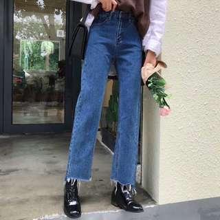 Celana jeans dua warna
