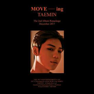 TAEMIN MOVE-ING ALBUM