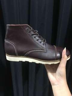 (NEW) sloken maroon reclays / sepatu boots