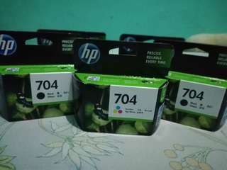 Hp 704 cartridge