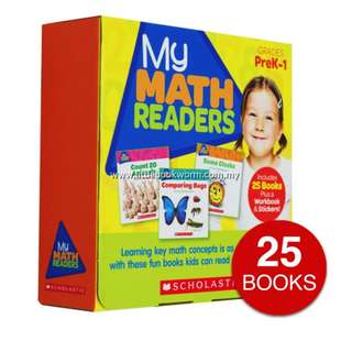 MY MATH READERS COLLECTION (25 BOOKS)