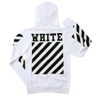 Hoodie Off White Premium Mirror