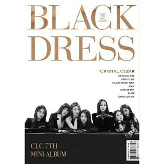 CLC BLACK DRESS ALBUM