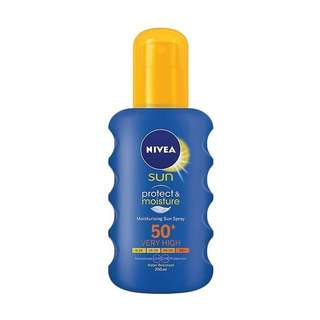 Nivea Sun Protect & Moisture Spray SPF 50+ 200ml NEW Sangat Murah Limited Offer