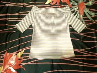 Women Clothes /Sabrina Top / Preloved Clothes