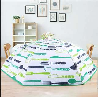 Best selling Taiwan foldable insulated Round Dish Cover (Double Extra Large - 70cm)