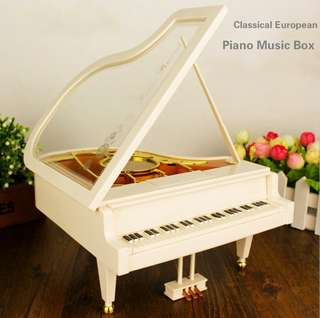 Classical European Piano Music Box Ballet Music Box Creative Birthday Gift