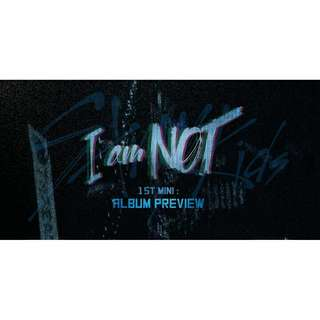 STRAY KIDS I AM NOT ALBUM