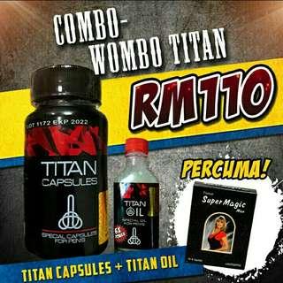 titan capsule combo