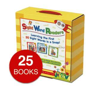SIGHT WORD READERS COLLECTION (25 BOOKS)